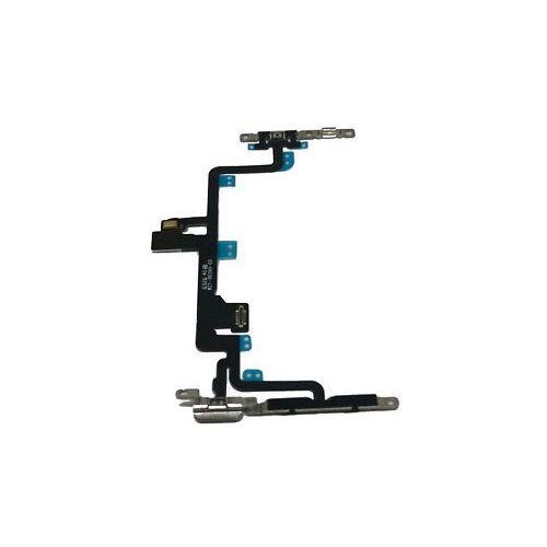 Krachtvolumevibrator compleet voor iPhone 7 Plus (flitser en interne microfoon)
