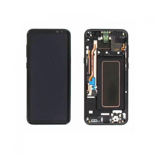 Black Screen for Samsung Galaxy S8 Plus SM-G955 - Original Quality