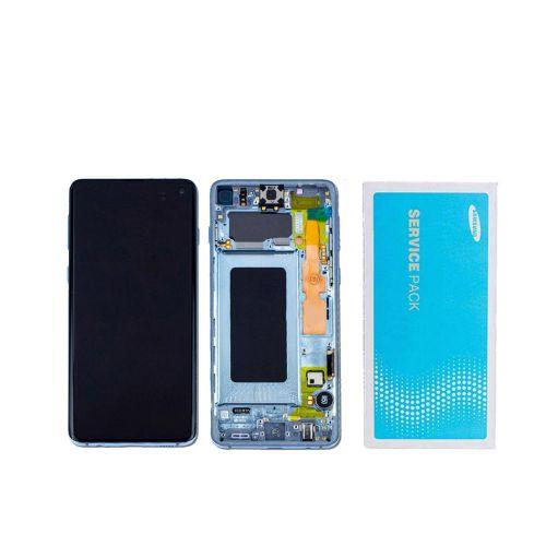 Écran Bleu pour Samsing Galaxy S20 SM-G981 - Qualité Originale