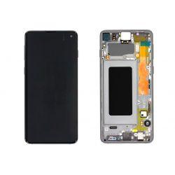 Zwart scherm voor Samsung Galaxy S10 SM-G973F - Originele kwaliteit