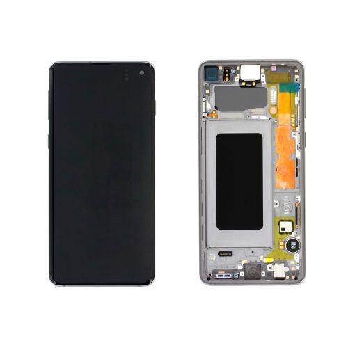 Black Screen for Samsung Galaxy S10 SM-G973F - Original Quality