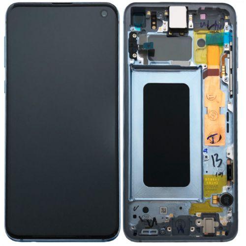 Écran Bleu pour Samsing Galaxy S10 SM-G973F - Qualité Originale