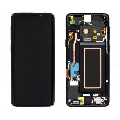 Black Screen for Samsung Galaxy S9 SM-G960F - Original Quality