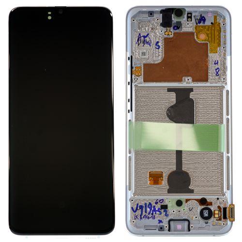 Écran Blanc pour Samsung Galaxy A90 SM-A908B - Qualité Originale