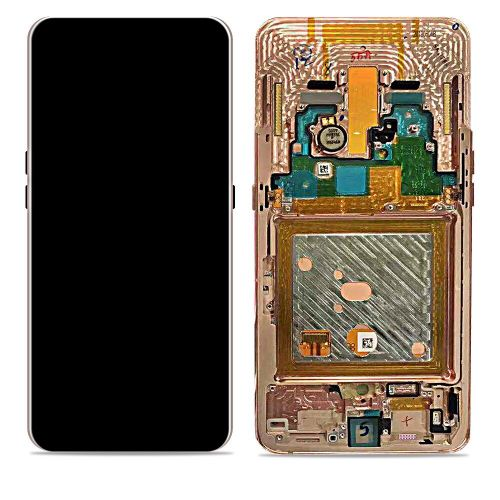 Roze scherm voor Samsung Galaxy A80 SM-A805F - Originele kwaliteit