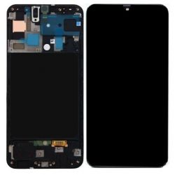 Zwart scherm voor Samsung Galaxy A50 SM-A505F - Originele kwaliteit