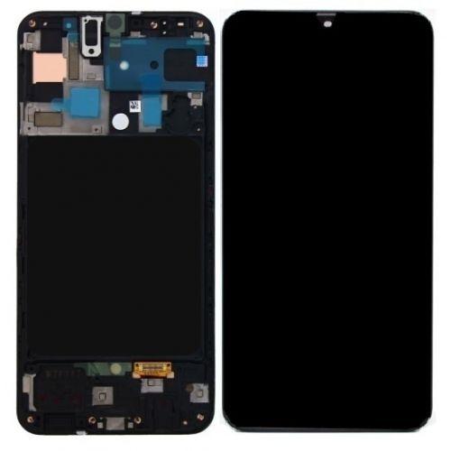 Black Screen for Samsung Galaxy A50 SM-A505F - Original Quality