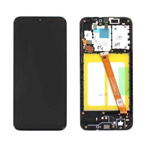 Zwart scherm voor Samsung Galaxy A20e SM-A202F - Originele kwaliteit