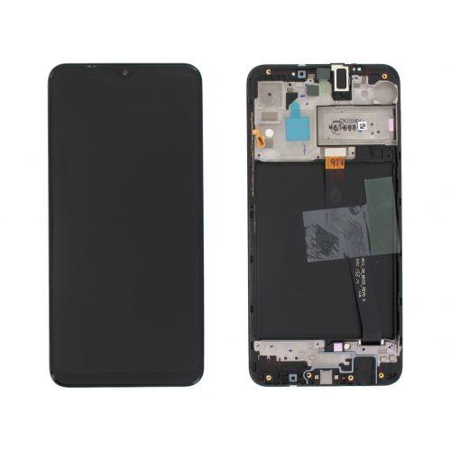 Écran Noir pour Samsung Galaxy A10 SM-A105F - Qualité Originale