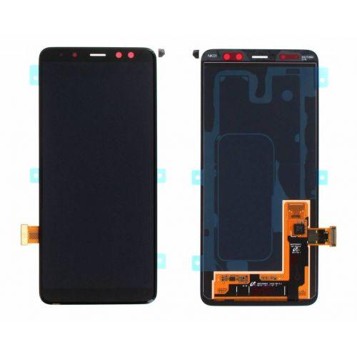 Zwart scherm voor Samsung Galaxy A8 (2018) SM-A530F - Originele kwaliteit