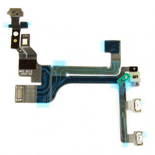 Nappe power volume vibreur pour iPhone 5C ( flash et micro interne)