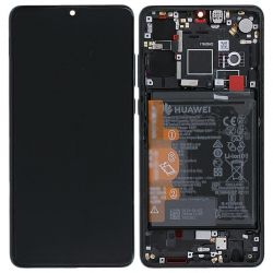 Black Screen for Huawei P30 with Battery - Original Quality