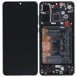 Zwart scherm voor Huawei P30 met Batterij - Originele kwaliteit