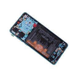 Blauw scherm voor Huawei P30 met Batterij - Originele kwaliteit