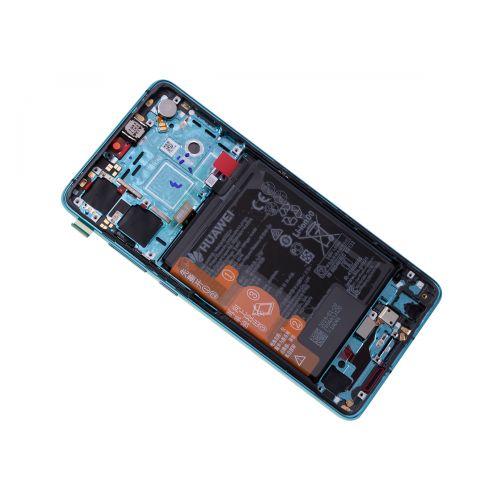 Écran Bleu pour Huawei P30 avec Batterie - Qualité Originale