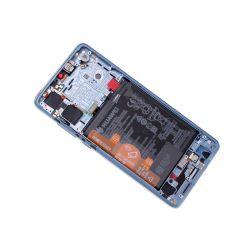 Paarse scherm voor Huawei P30 met Batterij - Originele kwaliteit