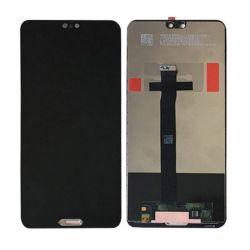 Zwart scherm voor Huawei P20 - Originele kwaliteit