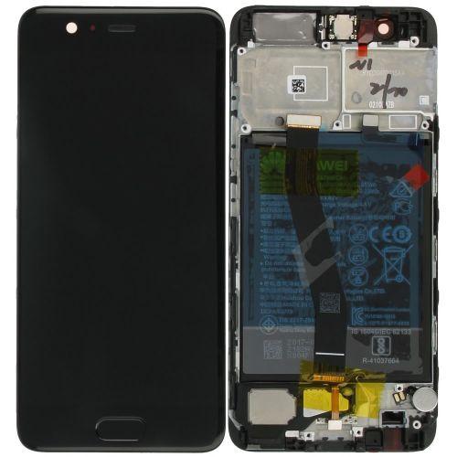Zwart scherm voor Huawei P10 met Batterij - Originele kwaliteit