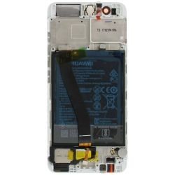 Silver Screen for Huawei P10 with Battery - Original Quality