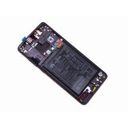 Zwart scherm voor Huawei Mate 20 met Batterij - Originele kwaliteit