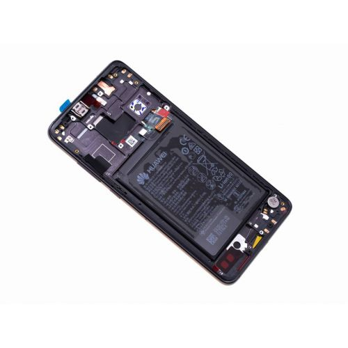 Black Screen for Huawei Mate 20 with Battery - Original Quality