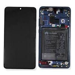 Blauw scherm voor Huawei Mate 20 met Batterij - Originele kwaliteit