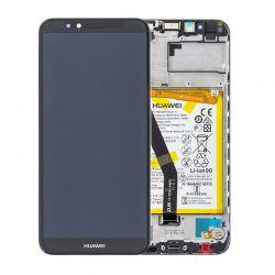 Zwart scherm voor Huawei Y6 2018 met Batterij - Originele kwaliteit
