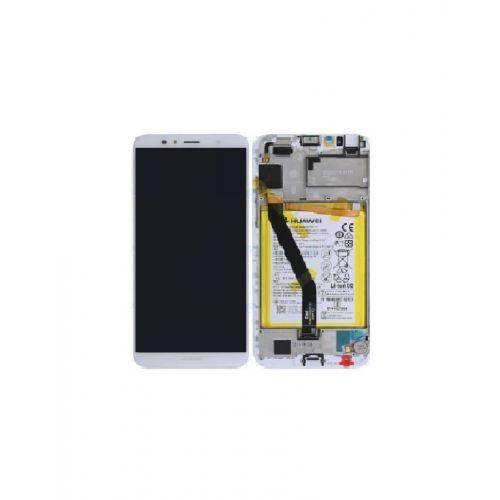 Écran Blanc pour Huawei Y6 2018 avec Batterie - Qualité Originale