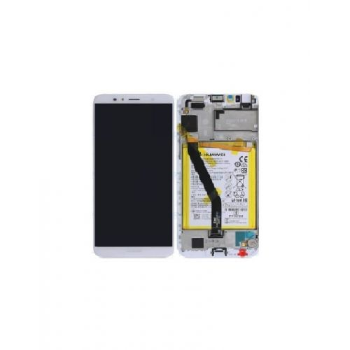 White Screen for Huawei Y6 2018 with Battery - Original Quality