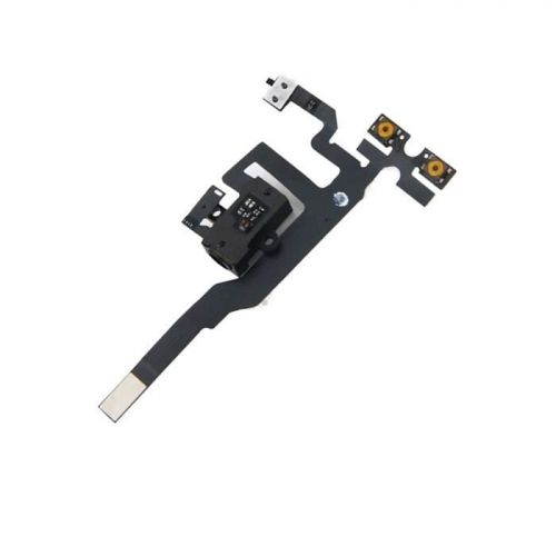 Flex of volume button and vibrator + jack for iPhone 4s