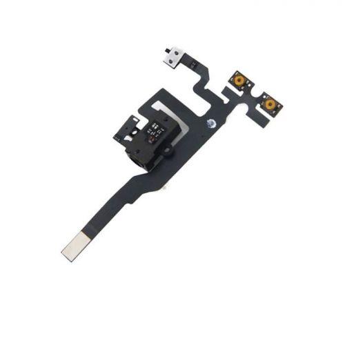 Flex van volumeknop en vibrator + aansluiting voor iPhone 4s