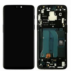 Zwart scherm voor OnePlus 6 - Originele kwaliteit