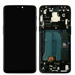 Écran Noir Miroir pour OnePlus 6 - Qualité Originale