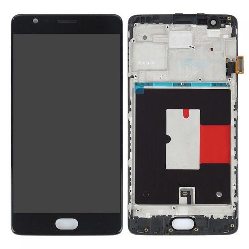Écran Noir pour OnePlus 3 / 3T - Qualité Originale