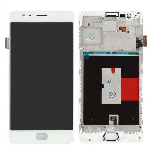 Écran Blanc pour OnePlus 3 / 3T - Qualité Originale