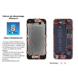 Gratis: Downloadbaar demontagepatroon voor iPhone 6