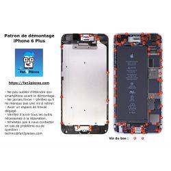Gratuit : Patron de démontage téléchargeable pour iPhone 6 Plus