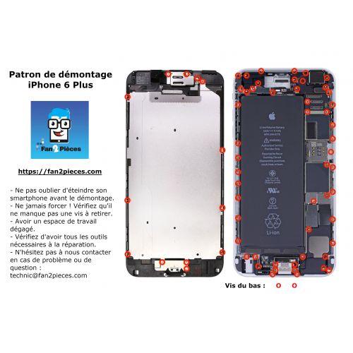 Gratis: Downloadbaar demontagepatroon voor iPhone 6 Plus