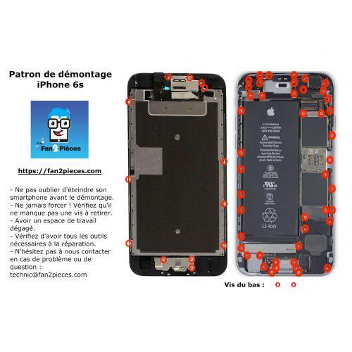 Gratuit : Patron de démontage téléchargeable pour iPhone 6s
