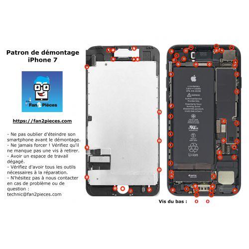 Gratuit : Patron de démontage téléchargeable pour iPhone 7