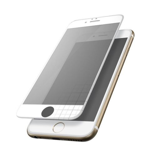 iPhone 6 / 6S - Curved tempered glass screenprotector 9H 3D