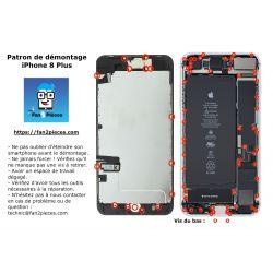 Gratuit : Patron de démontage téléchargeable pour iPhone 8 Plus