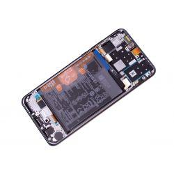 Zwart scherm voor Huawei P30 Lite met Batterij - Originele kwaliteit