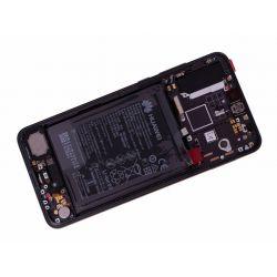 Zwart scherm voor Huawei P20 PRO met Batterij - Originele kwaliteit