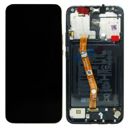Black Screen for Huawei Mate 20 Lite with Battery - Original Quality