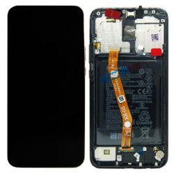 Zwart scherm voor Huawei Mate 20 Lite met Batterij - Originele kwaliteit