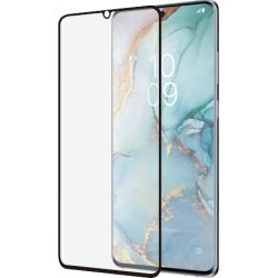 Samsung Galaxy S10 Lite - Black curved Tempered glass 9H 3D