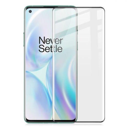 OnePlus 8 - Film en verre trempé incurvé 9H 5D Noir