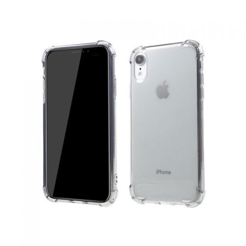 Transparent shockproof TPU case for iPhone Xr