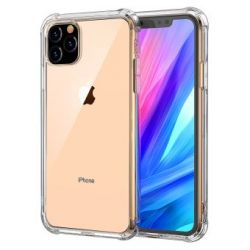 Transparent shockproof TPU case for iPhone 11